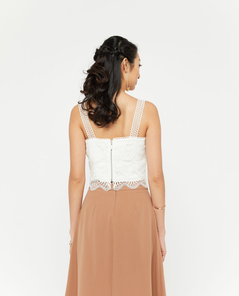 Woina Lace Top Tops OSMOSE-STORES