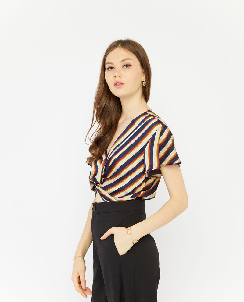 Yandal Vintage Stripe Top Tops OSMOSE-STORES