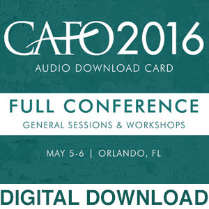 2016 Full Conference - General Sessions & Workshops