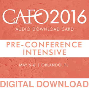 2016 Conference - Intensive Session Bundle