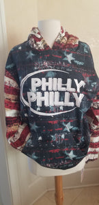Philly Philly - Patriotic Pullover Hoodie