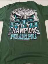 Load image into Gallery viewer, Philadelphia City of Champions - Green Tee