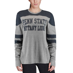 Penn State Nittany Lions Peyton Grey/Navy Long Sleeve