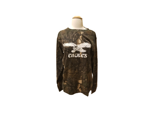 Vintage Eagle Camo Long Sleeve