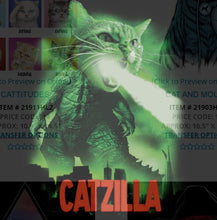 Load image into Gallery viewer, Catzilla Tee