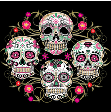 Load image into Gallery viewer, Sugar Skull Floral - Tee