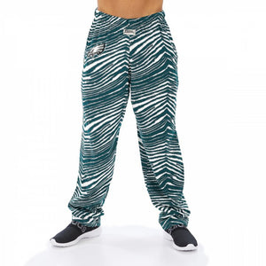 Philadelphia Eagles Zebra Pants - Zubaz- Officially Licensed