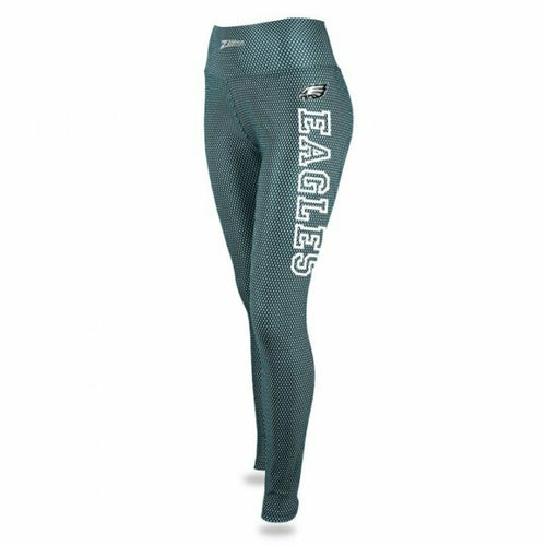 Philadelphia Eagles Print Leggings - Zubaz - Officially Licensed