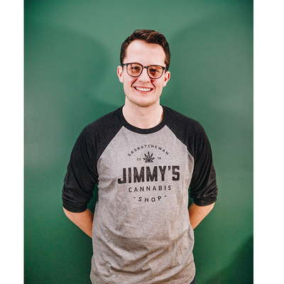 Jimmy's Baseball T-Shirt - Black