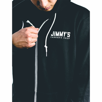 Jimmy's Zip-Up Hoodie Front View