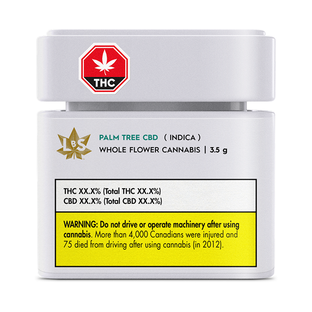 Palm Tree CBD - Flower