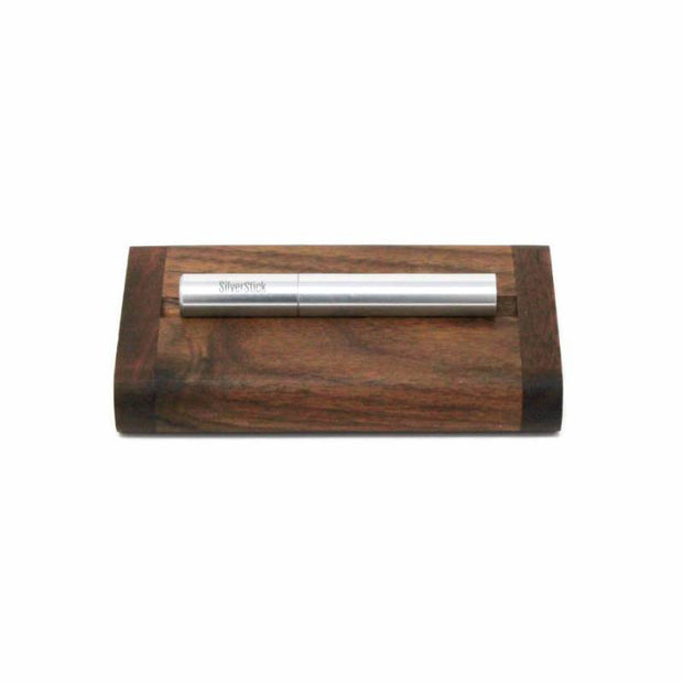 The SilverStick Wood Dugout w/ Poker - Slim Size