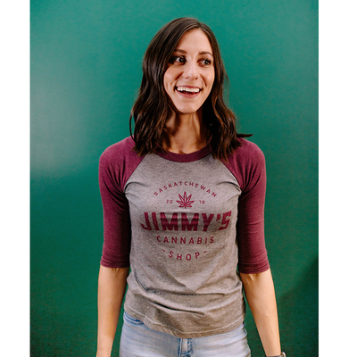 Jimmy's Baseball T-Shirt - Maroon
