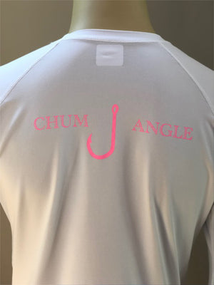 Womens Chum Angle SPF/Rash Guard Shirt