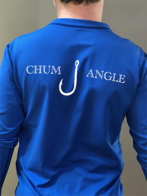 Boys Youth Chum Angle SPF/Rash Guard Shirt