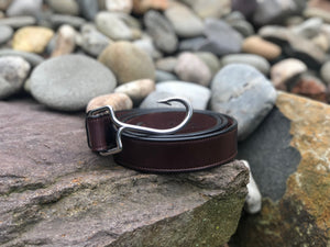 All American Leather Chum Angle Hook Belt