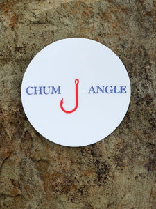Chum Angle Circle Sticker