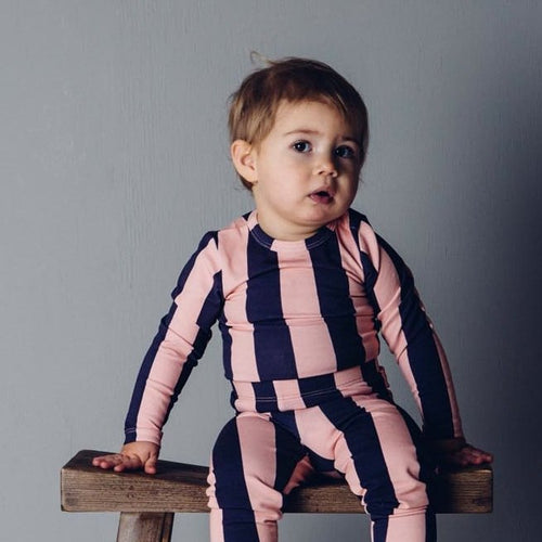 Pink Stripes Body
