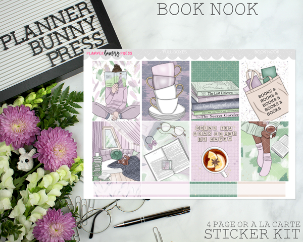 Book Nook | Vertical Sticker Kit