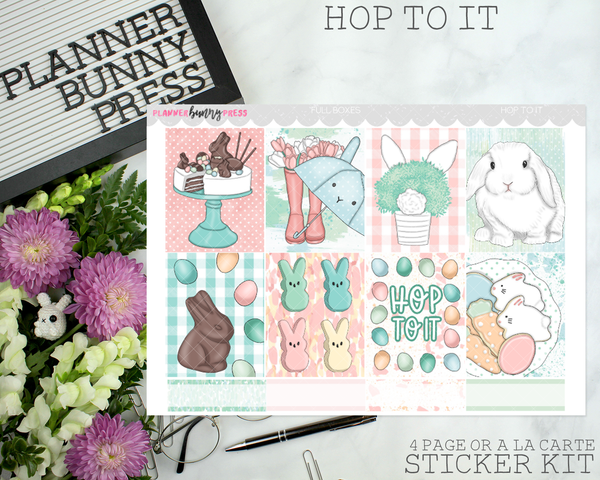 Hop to It | Vertical Sticker Kit