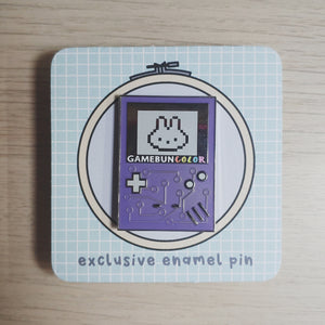 Gamebun Enamel Pin