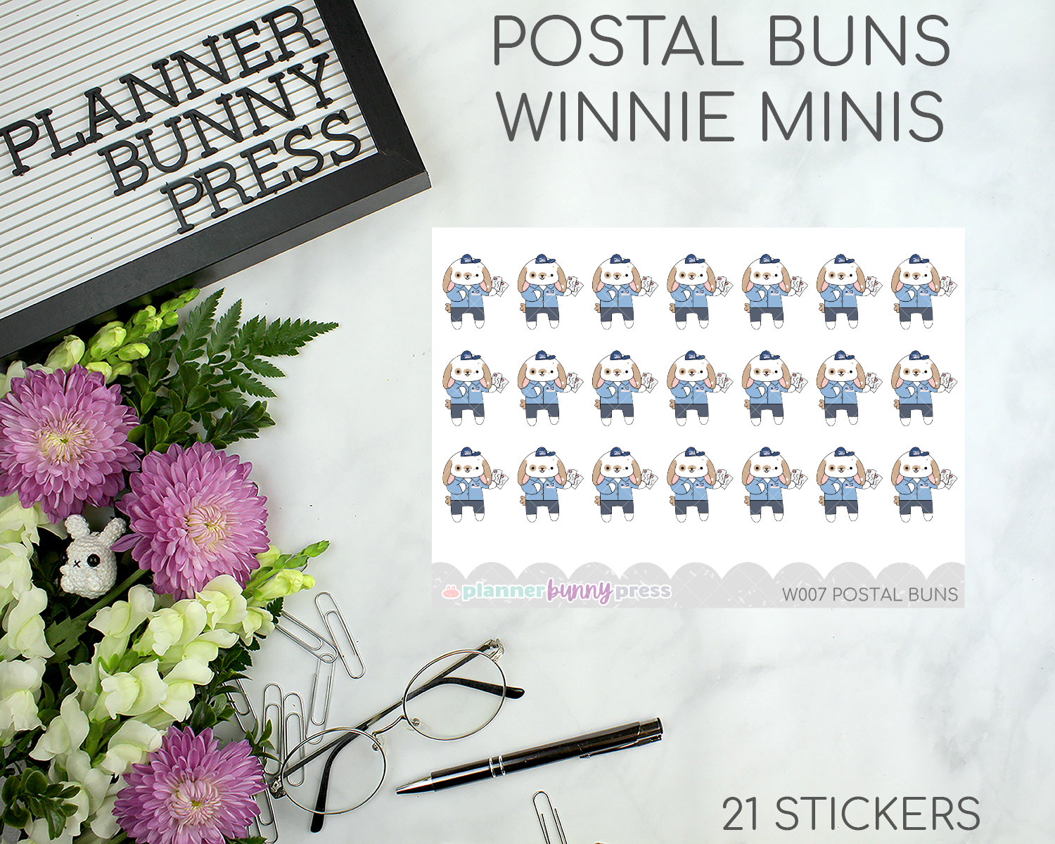 Postal Buns | Winnie Wednesday