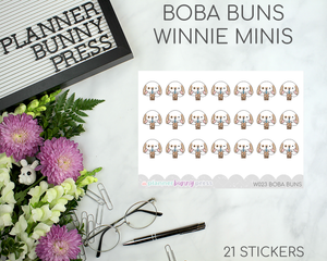 Boba Buns | Winnie Wednesday