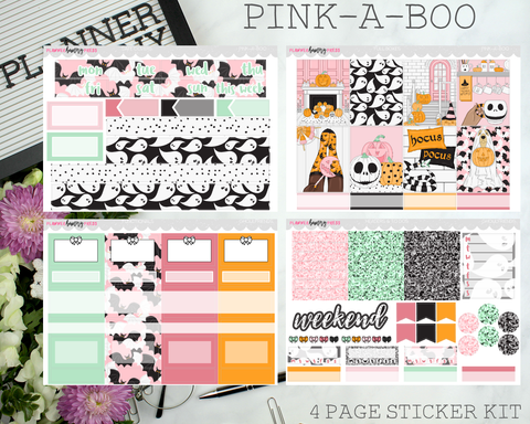 Pink-a-Boo | Vertical Sticker Kit