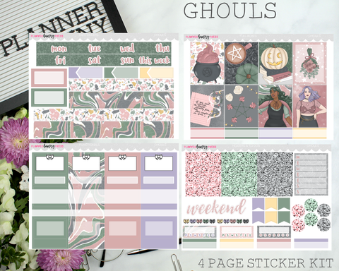 Ghouls | Vertical Sticker Kit