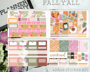 Fall Y'all | Vertical Sticker Kit