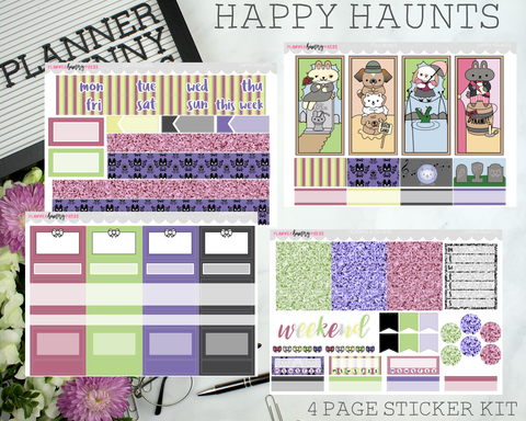 Happy Haunts | Vertical Sticker Kit