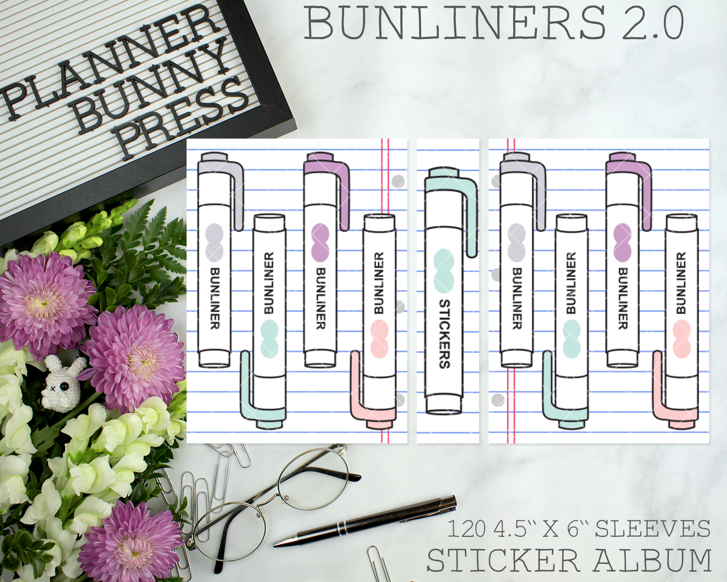 Bunliners 2.0 Sticker Album