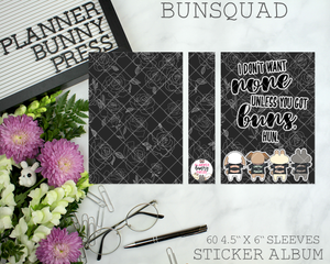 Bunsquad Sticker Album
