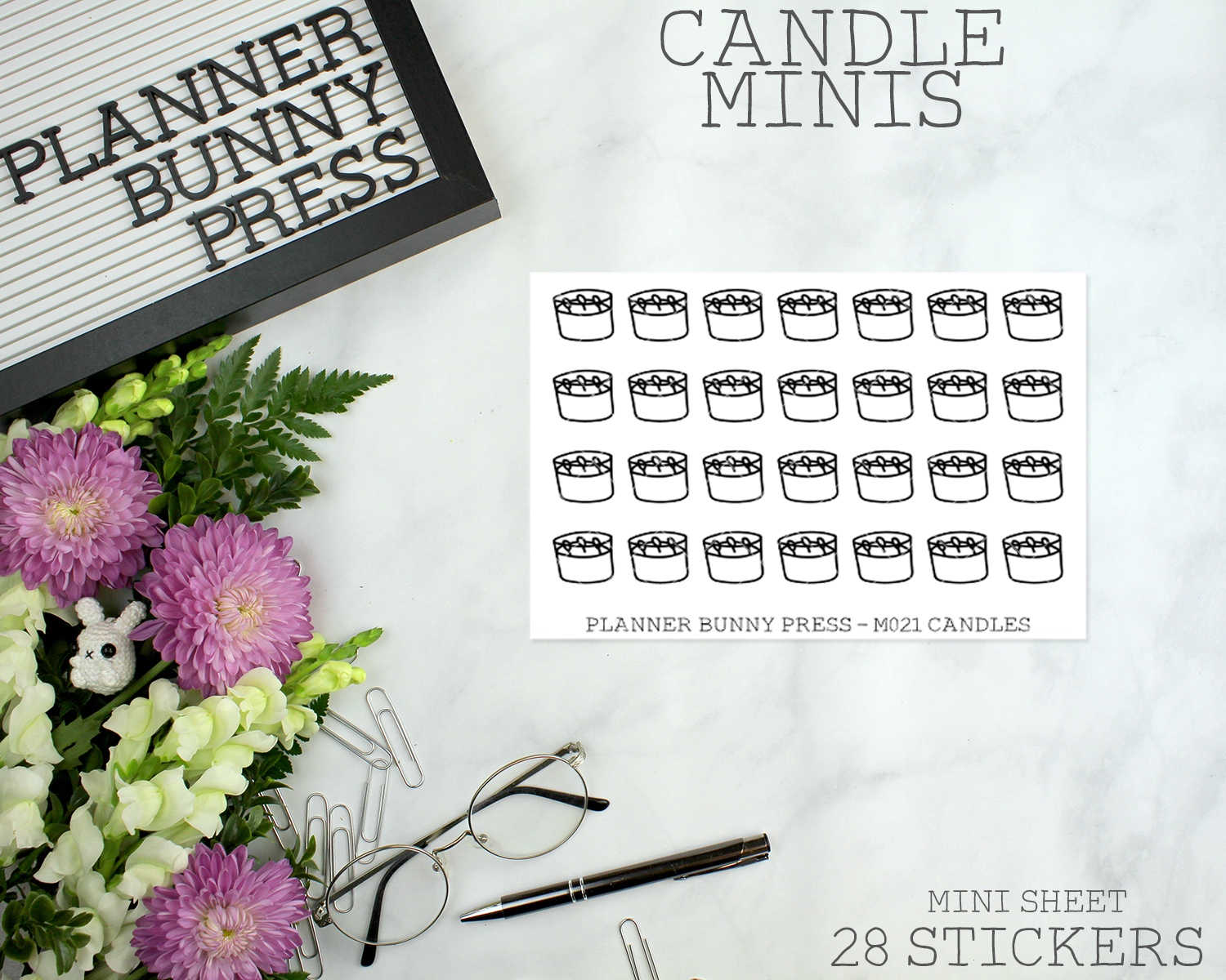 Candle Minis | Doodle Icon