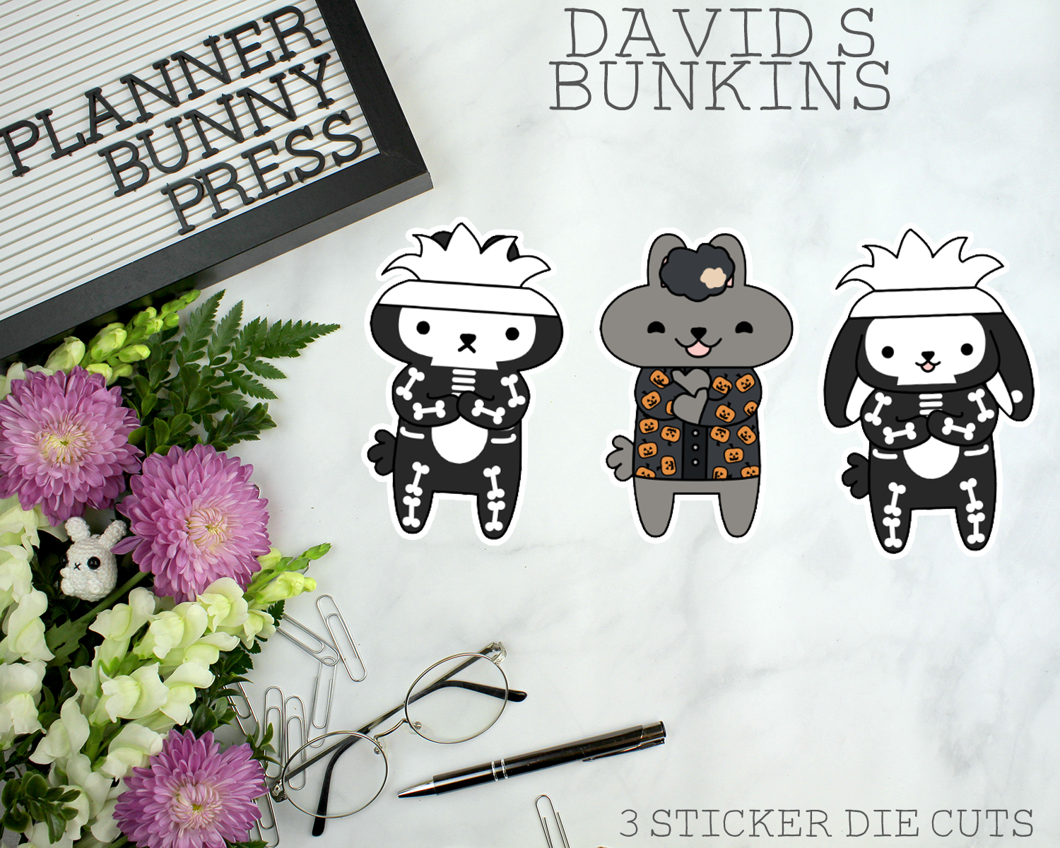 David S Bunkins Sticker Die Cuts