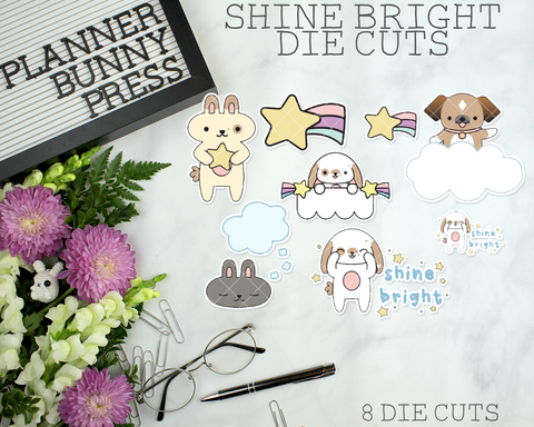 Die Cuts | Shine Bright