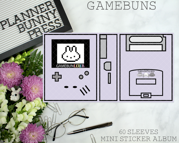 Gamebuns Mini Sticker Album