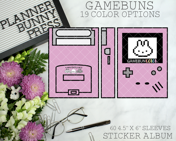 Gamebuns Sticker Album