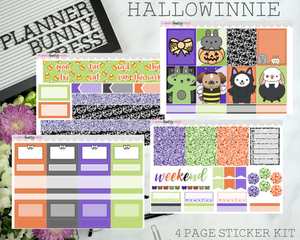 Hallowinnie | Vertical Sticker Kit