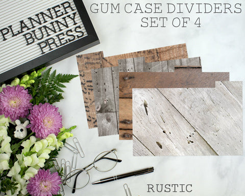 Rustic | Set of 4
