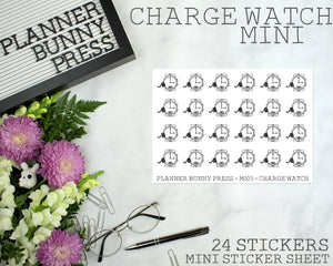 Charge Watch Minis | Character Sticker