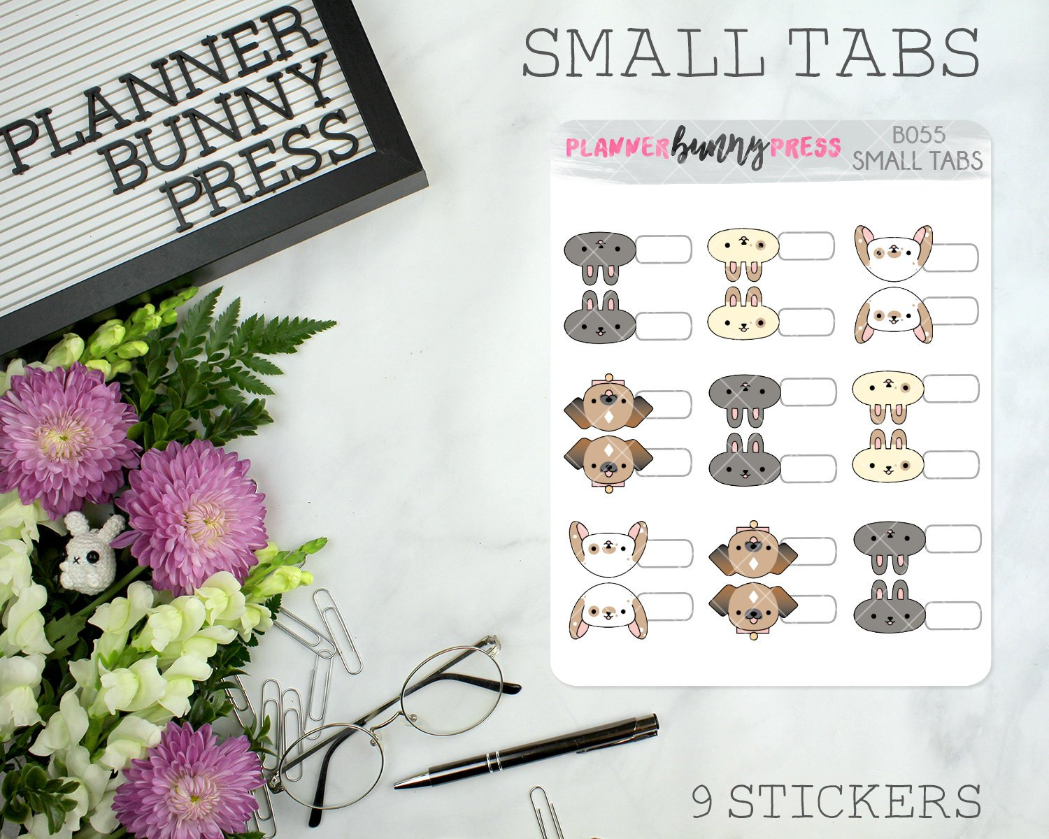 Small Tabs | Character Sticker