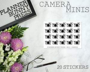 Camera Minis | Doodle Icon