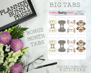 DIGITAL Big Tabs | Character Sticker