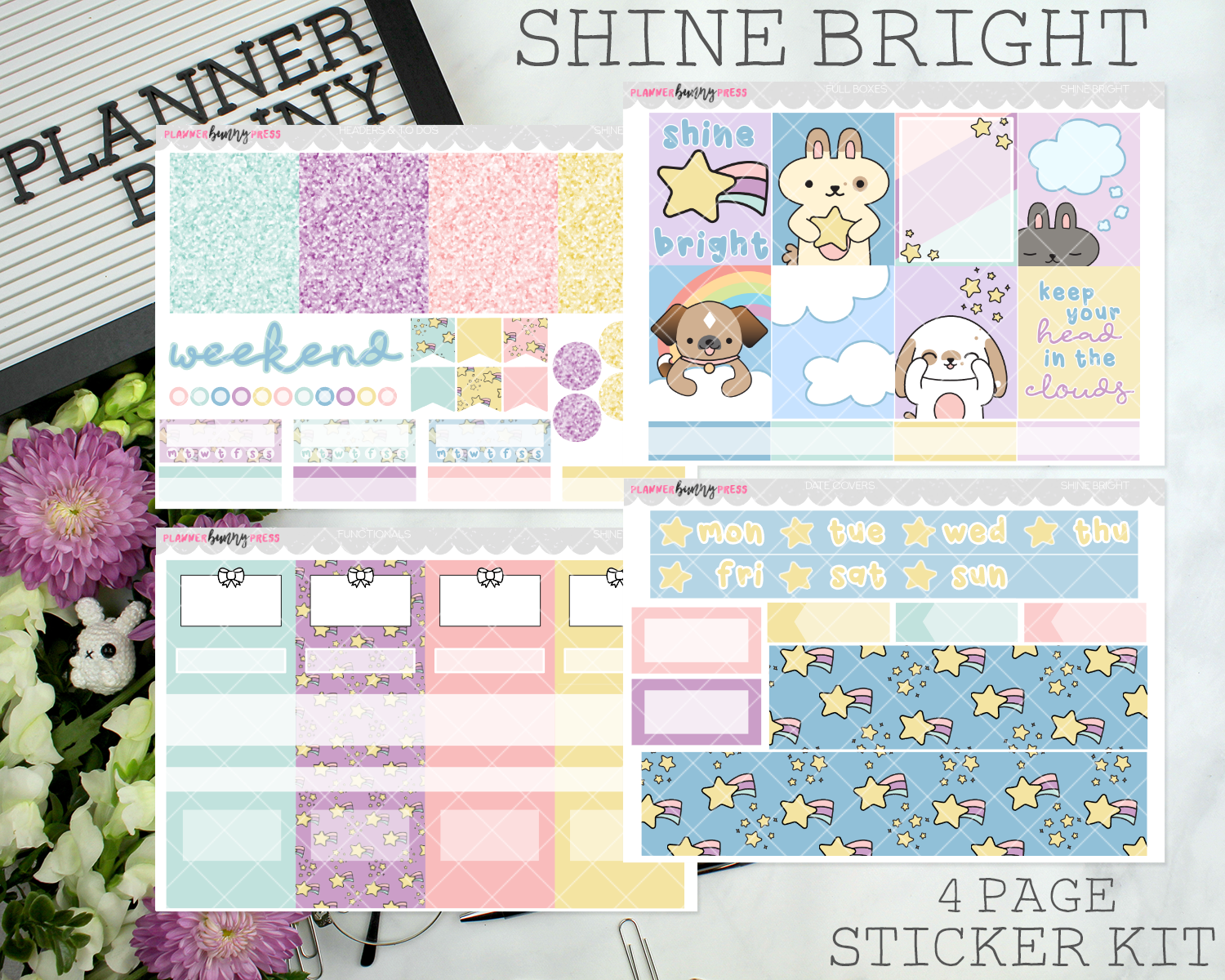 Shine Bright | Vertical Sticker Kit