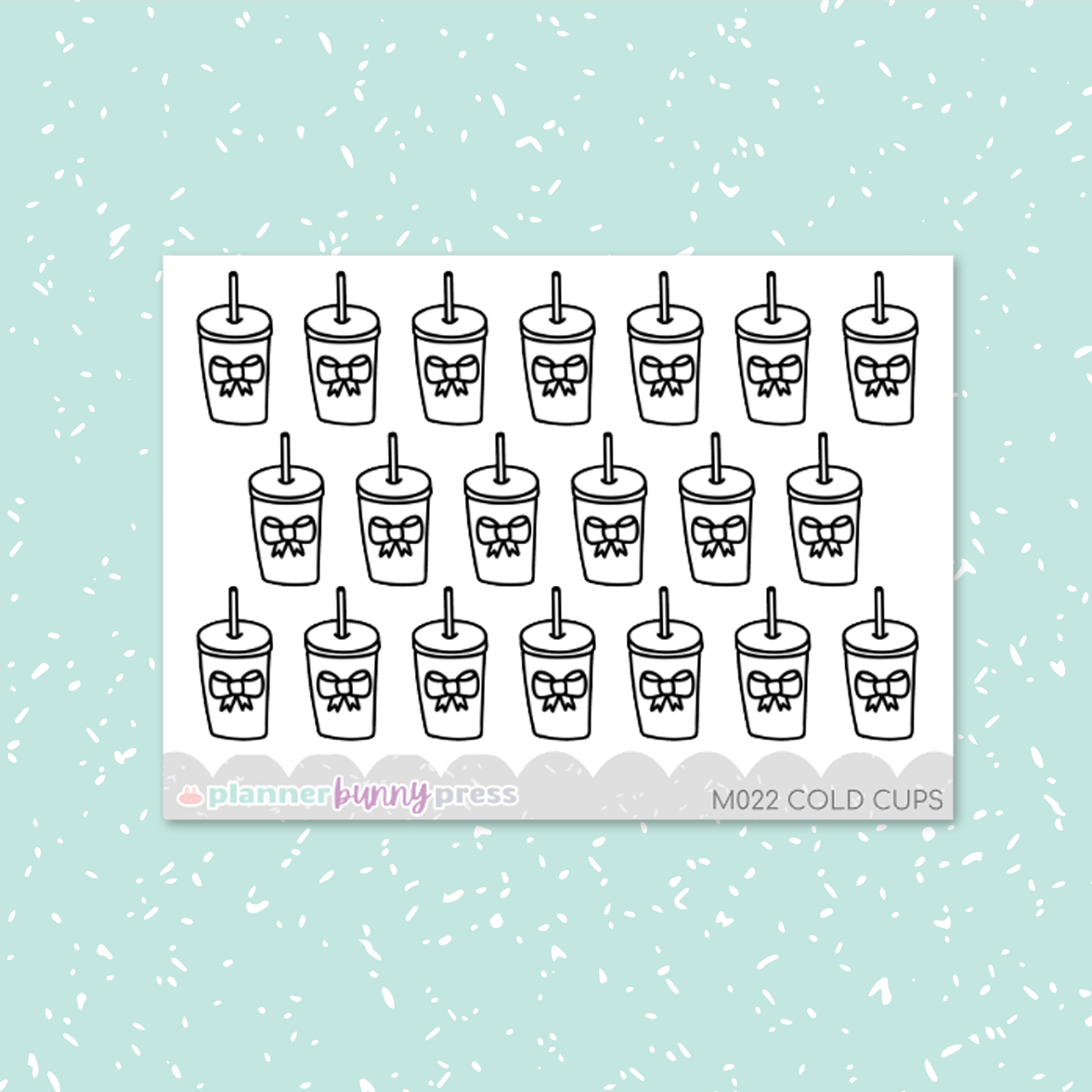 Cold Cups Minis | Doodle Icon