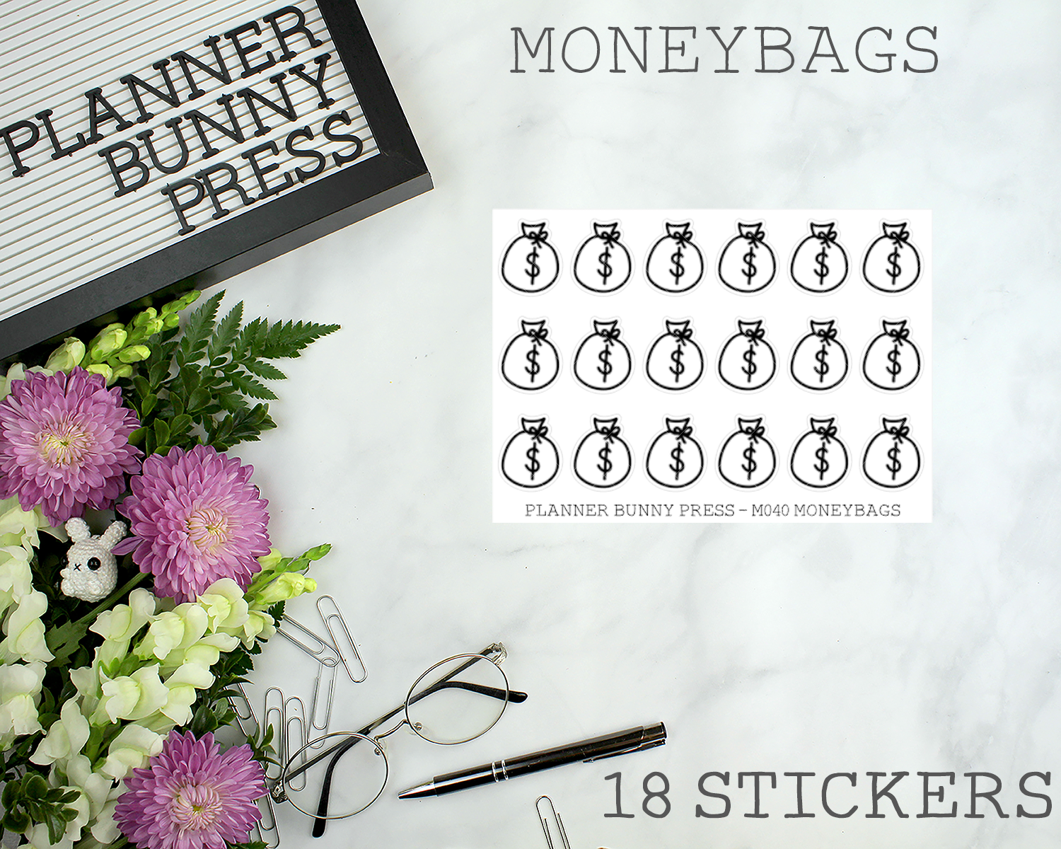 Moneybag Minis | Doodle Icon