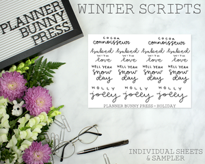 Winter Scripts