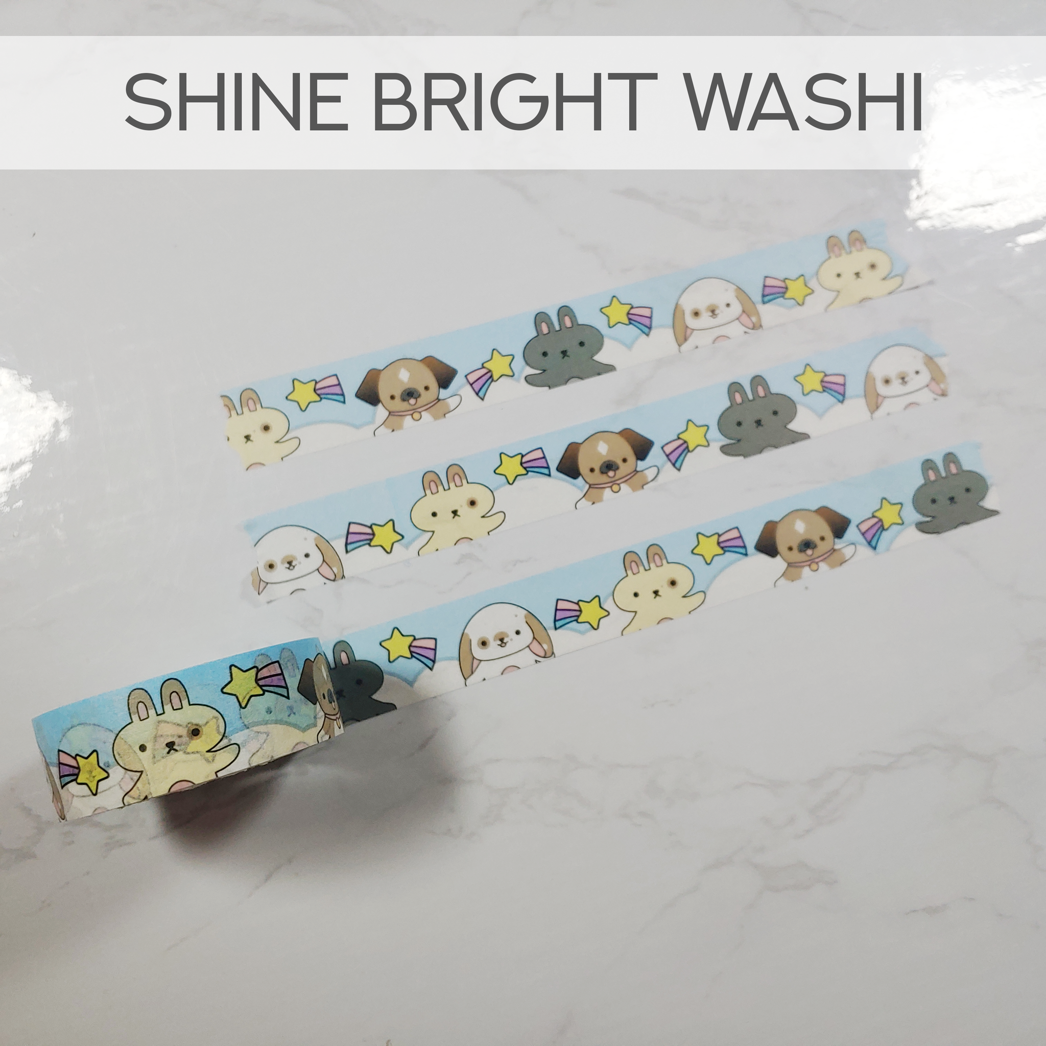 Shine Bright Washi Tape