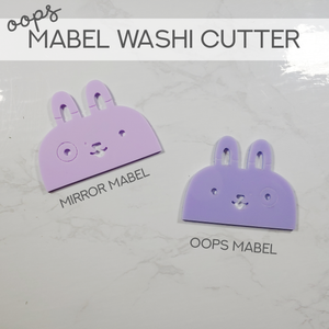 OOPS Mabel Washi Cutters